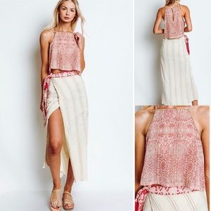 Free People Wrapped Around You 2 Pc Set